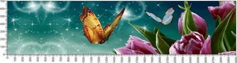 арт.№537 (Цветы 14)