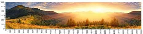арт.№216 (Фотофартук-Панорамы природы 3)