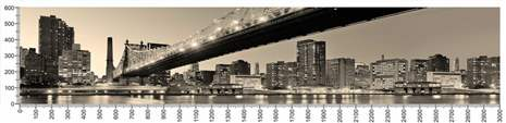 арт.№195 (Фотофартук-Панорамы городов 9)